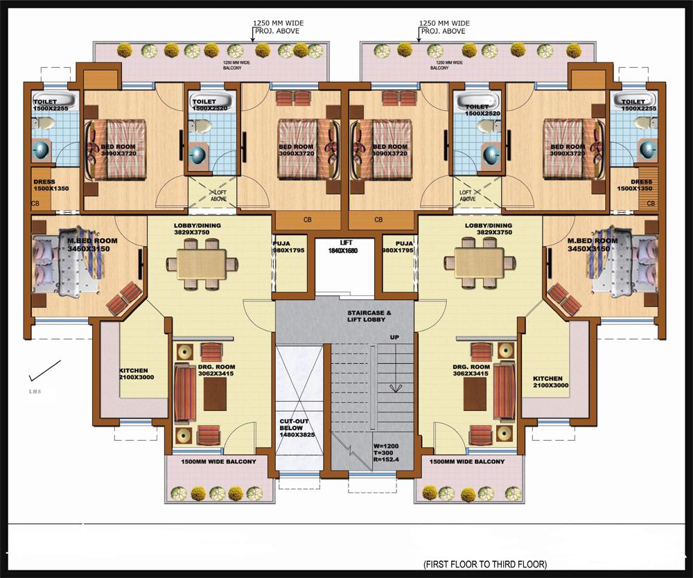 Independent Floor In Pearl Floors Prithvi Estates
