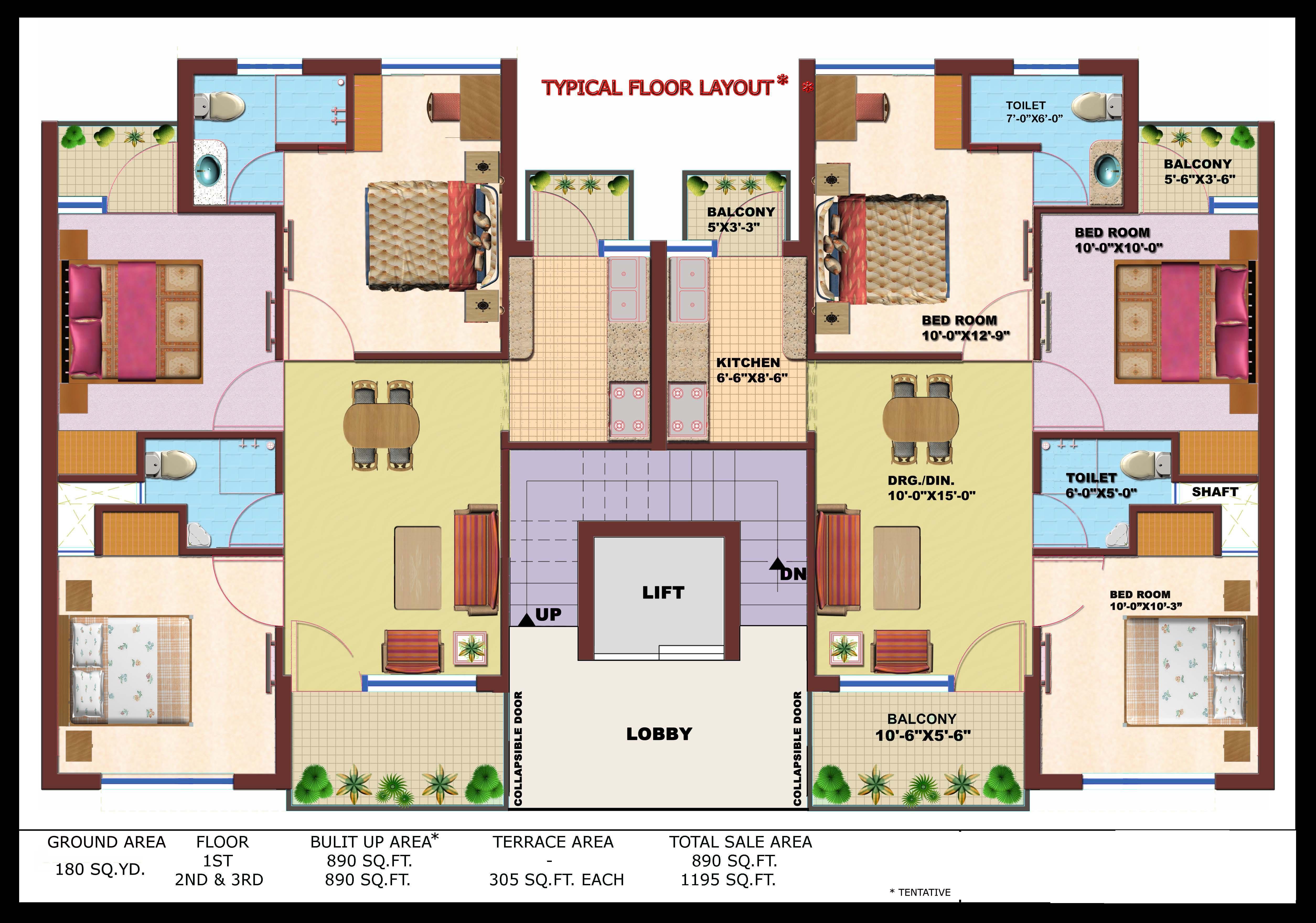 Independent Floor In Era Divine Floors Prithvi Estates