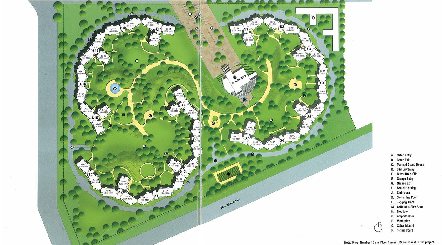 Apartment in the close south prithvi estates for Apartment plans for 60x40 site