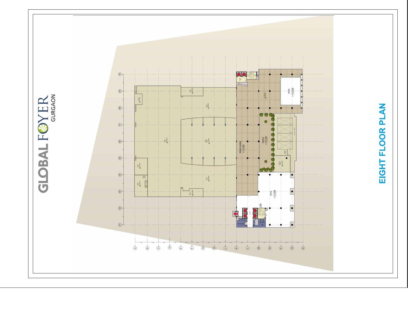 Global Foyer Floor Plan : Global foyer prithvi estates