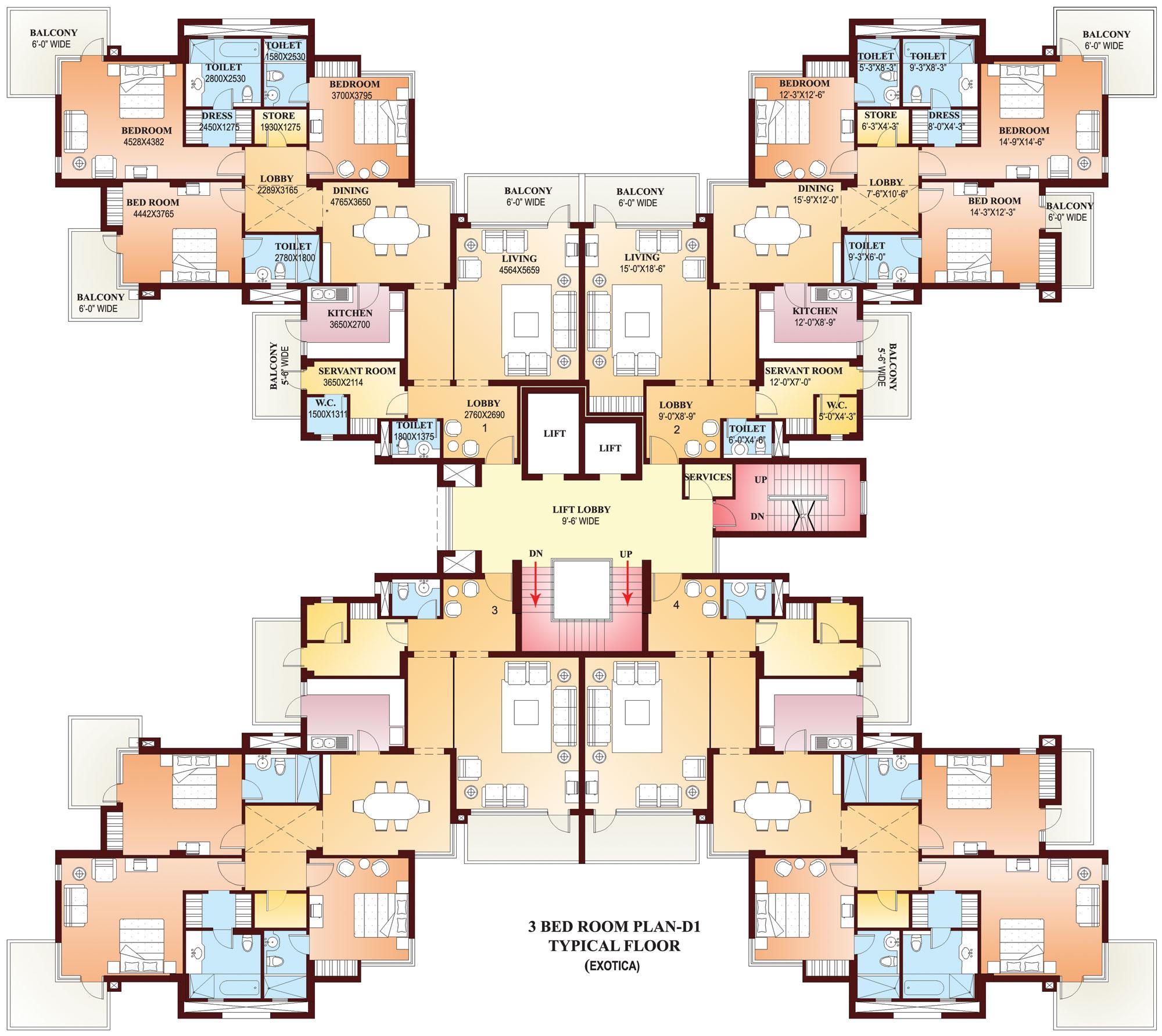 Apartment In Exotica Prithvi Estates